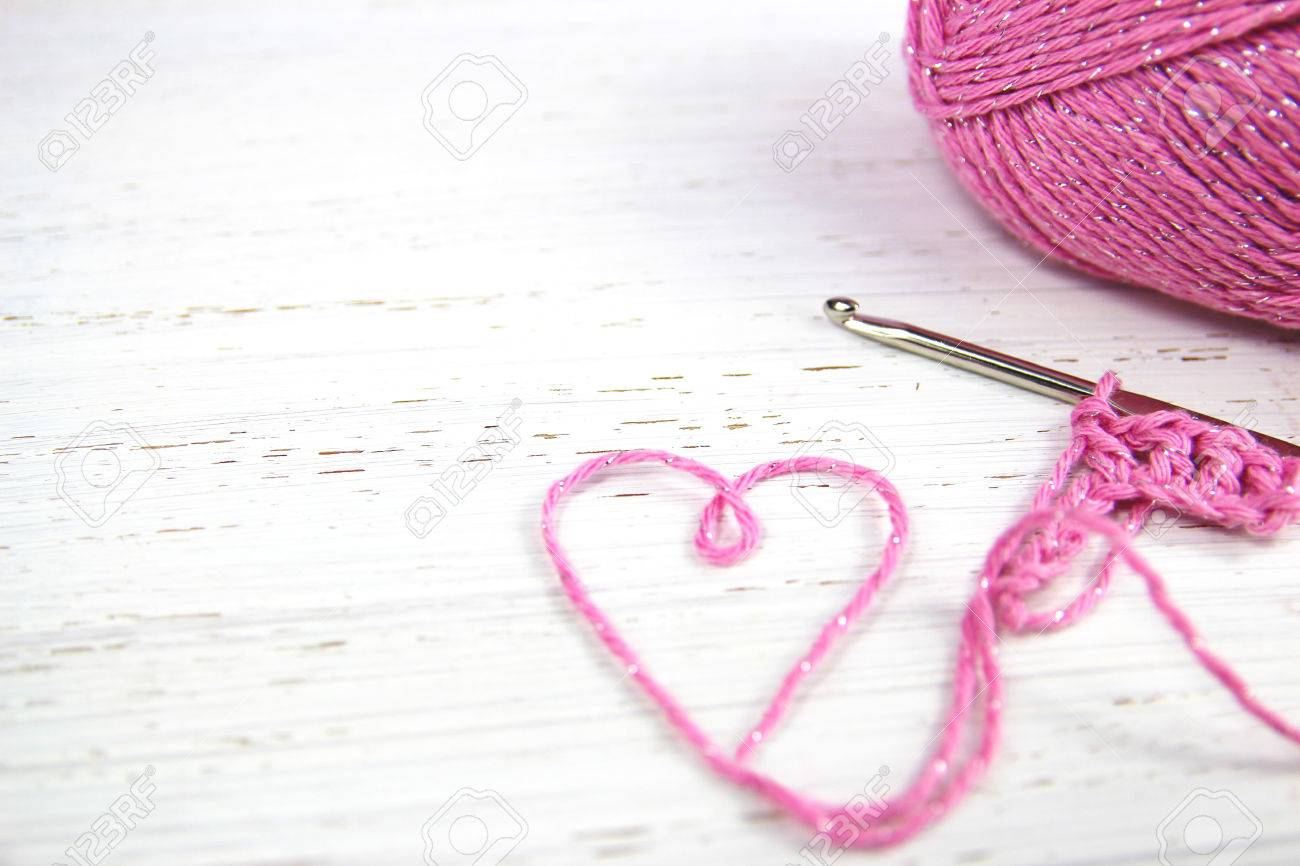 Free Download Pink Crochet Background With Yarn Heart On White Rustic Wooden 1300x866 For Your Desktop Mobile Tablet Explore 42 Yarn Background Yarn Wallpapers Yarn Background Yarn Yoshi Wallpaper