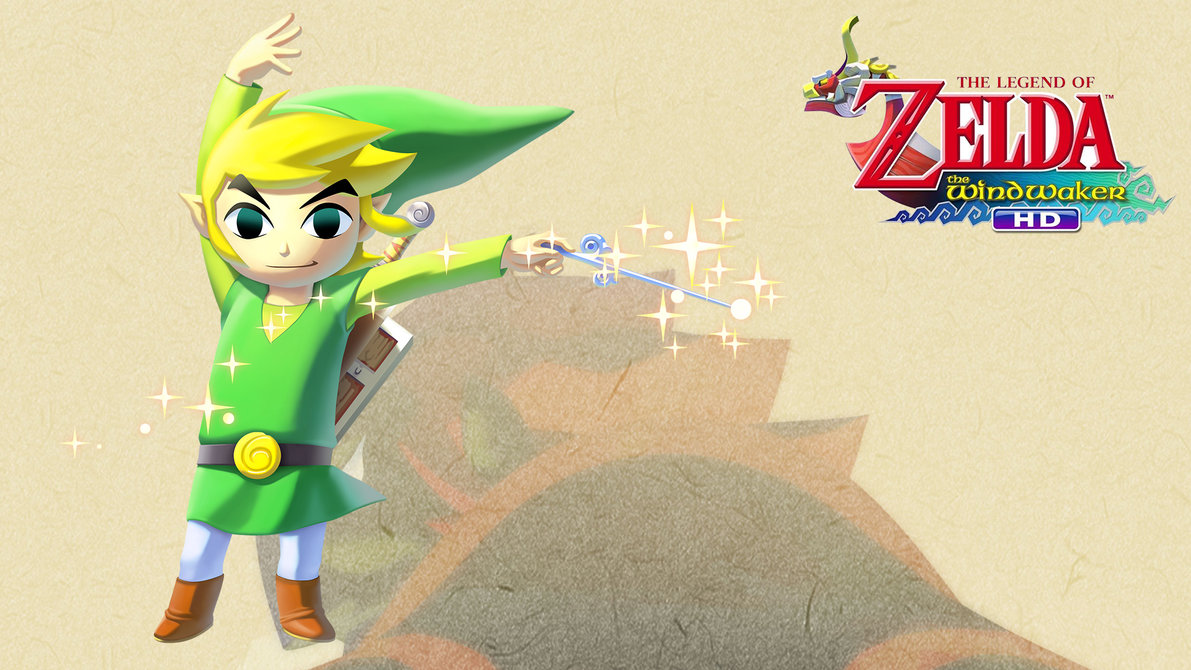 TLoZ The Wind Waker   Wallpaper   Link by Thelimomon 1191x670