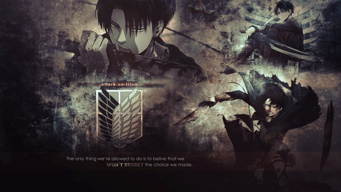 Levi wallpaper by AnnVanes 1190x672
