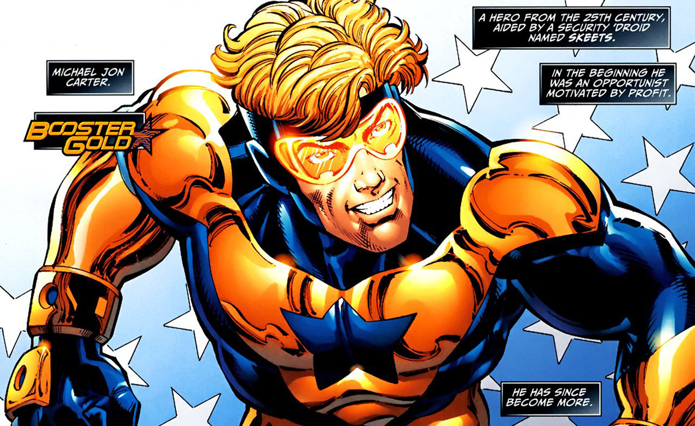 Booster Gold Wallpaper and Background Image 1400x858 ID478646 1400x858