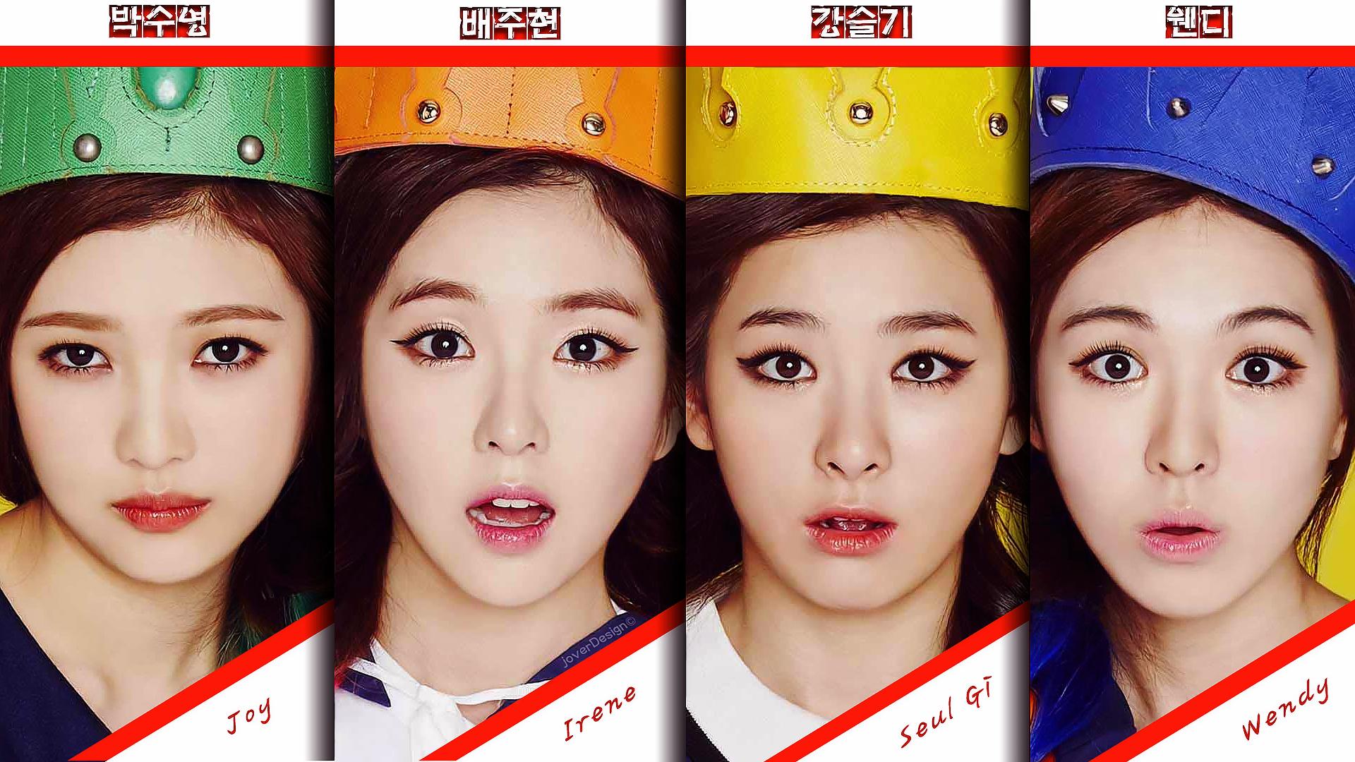 Free Download Red Velvet Ver2 By Jover Design 1920x1080