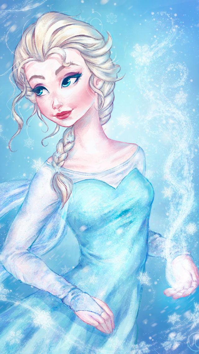 Frozen Elsa Iphone Wallpaper 98062 ZWALLPIX 640x1136