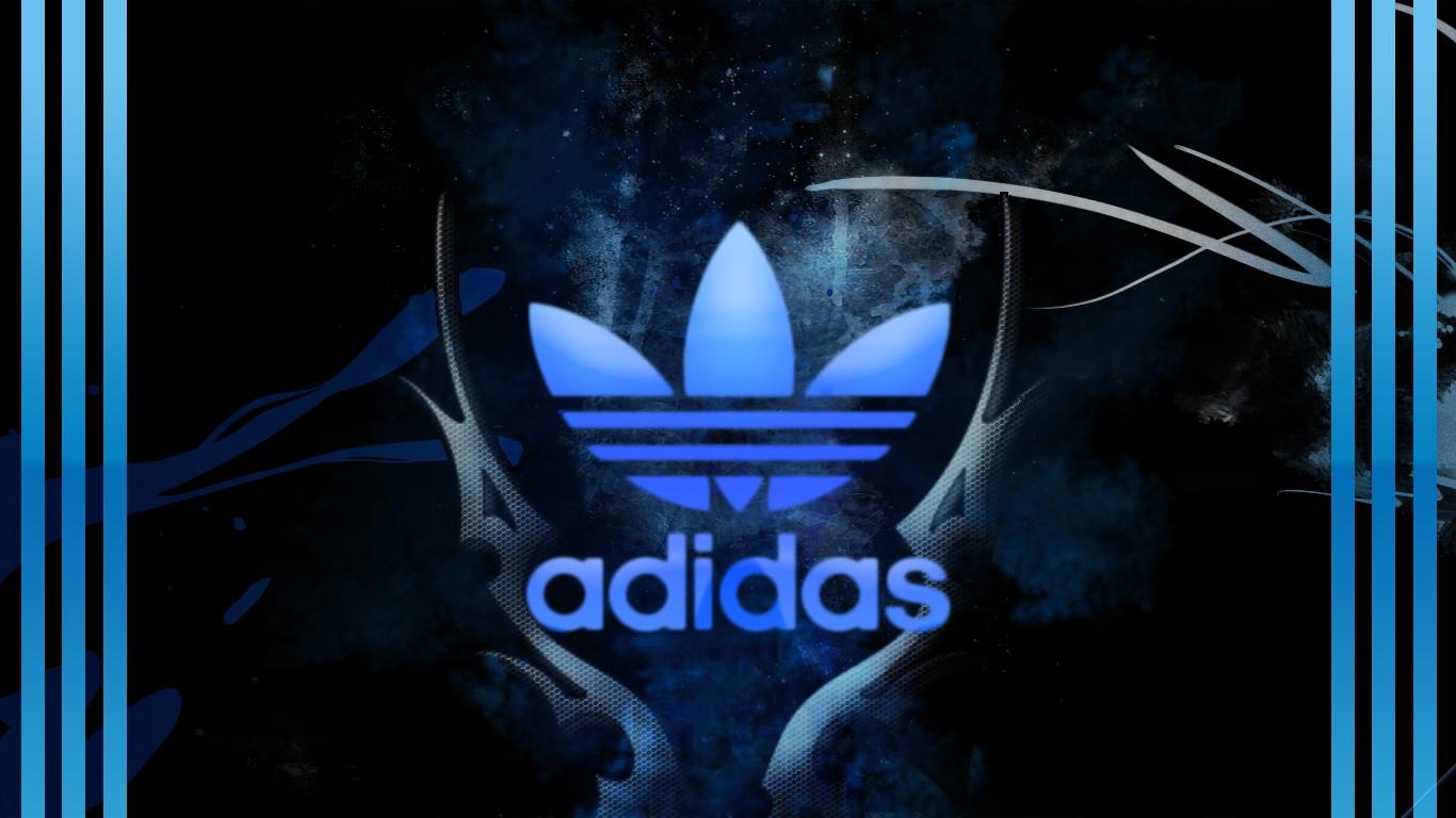 Cool Adidas Logo HD Wallpaper Download 2396 Wallpaper 1366x768