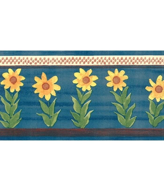 sunflower wallpaper border kitchen   wwwhigh definition wallpapercom 700x812
