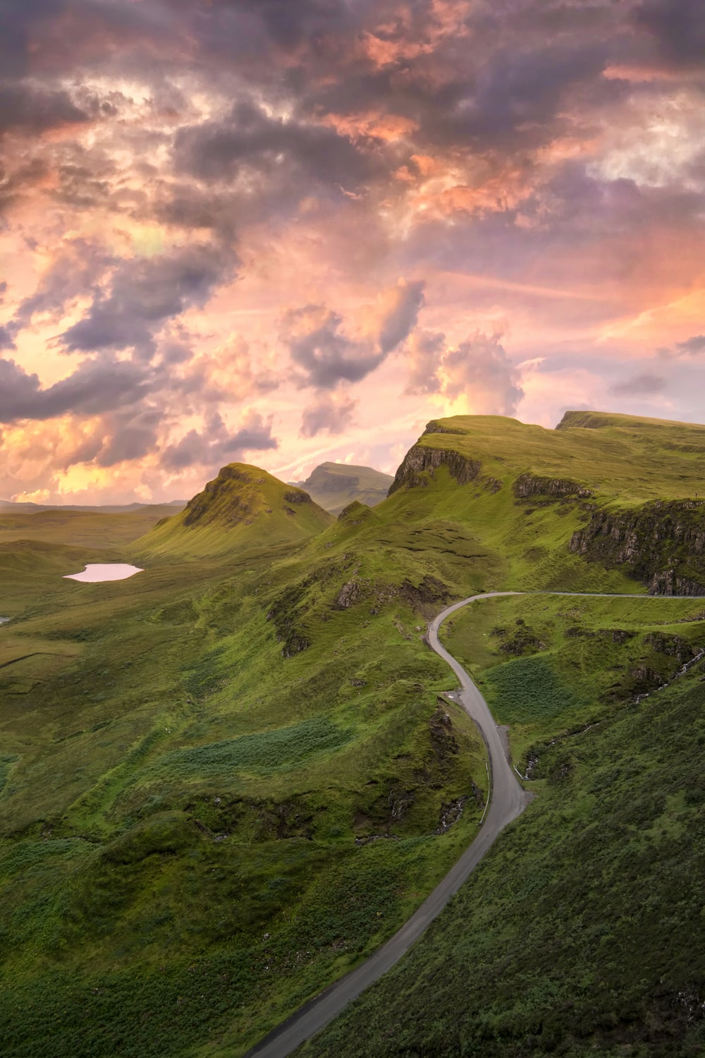 The Quiraing Portree Regno Unito Pictures Download Images 1000x1500