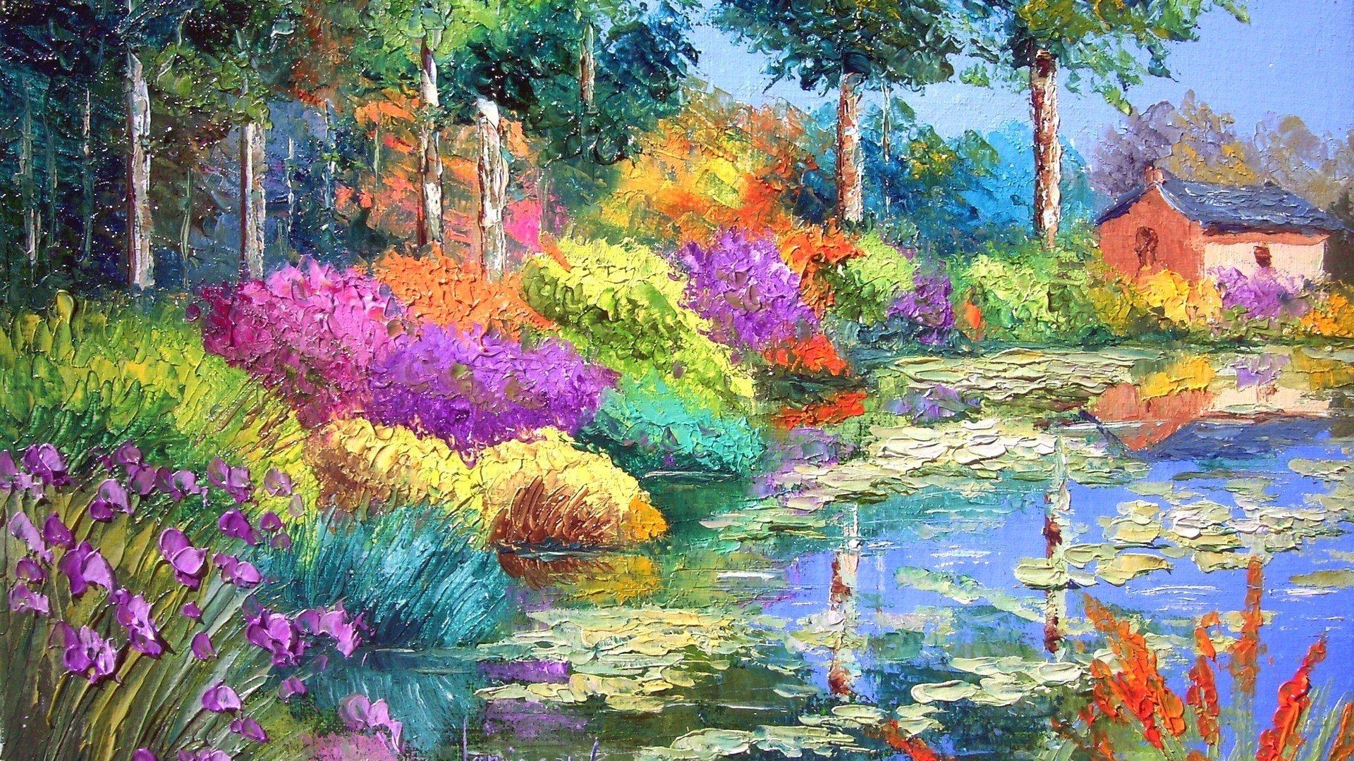 Wallpaper art artistic painting painters 24 1920x1080