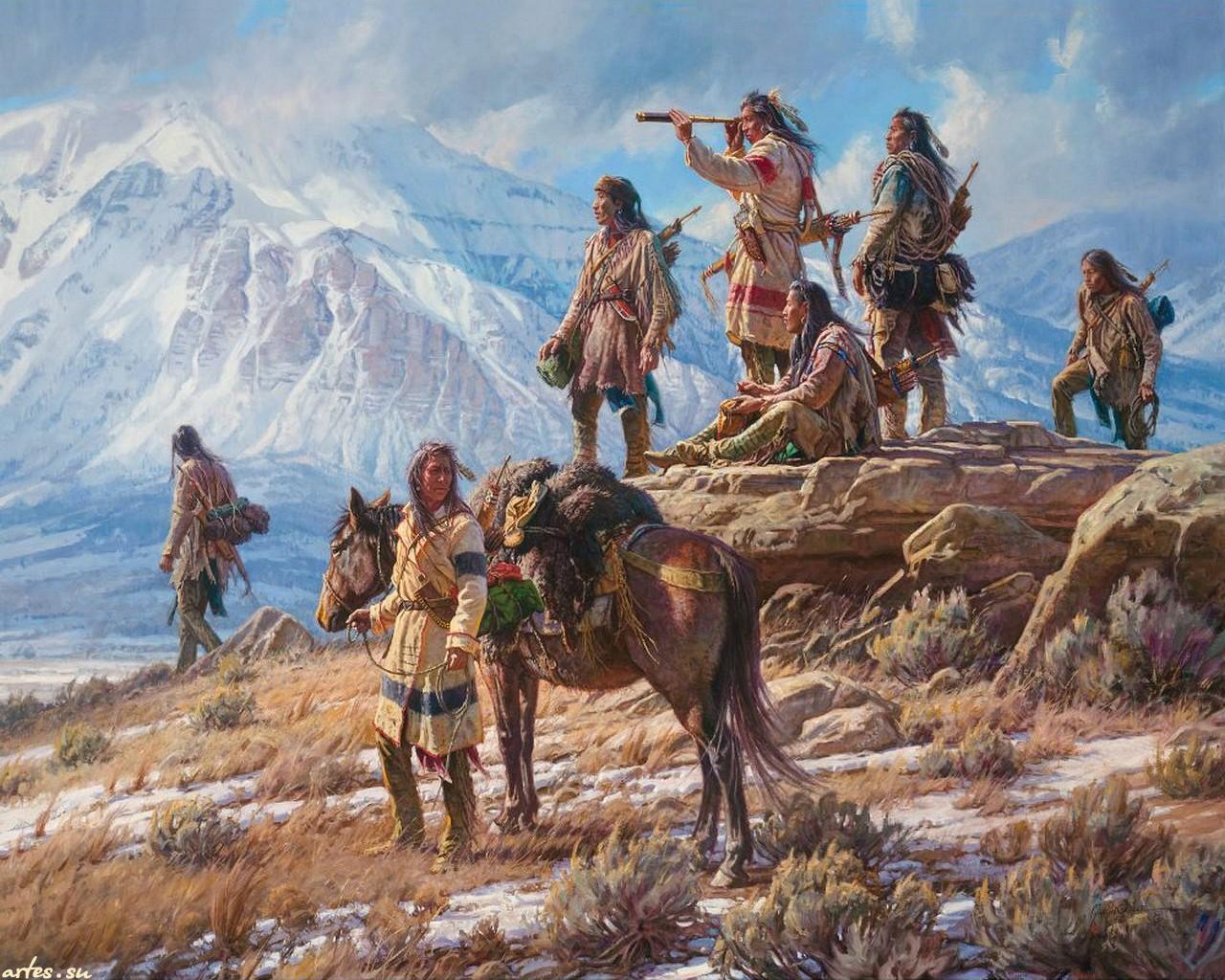47 American Indian Wallpapers For Desktop On Wallpapersafari