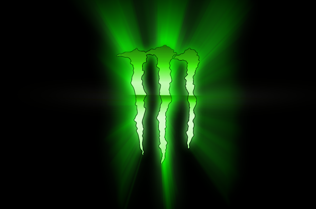 Monster Energy Drink Logo Wallpaper PicsWallpapercom 1100x727