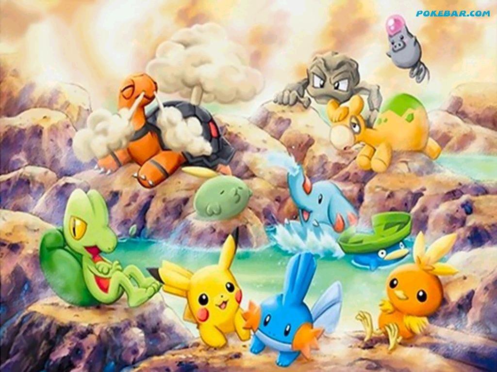 Cute Legendary Pokemon Pokemon platinum wallpaper 1024x768