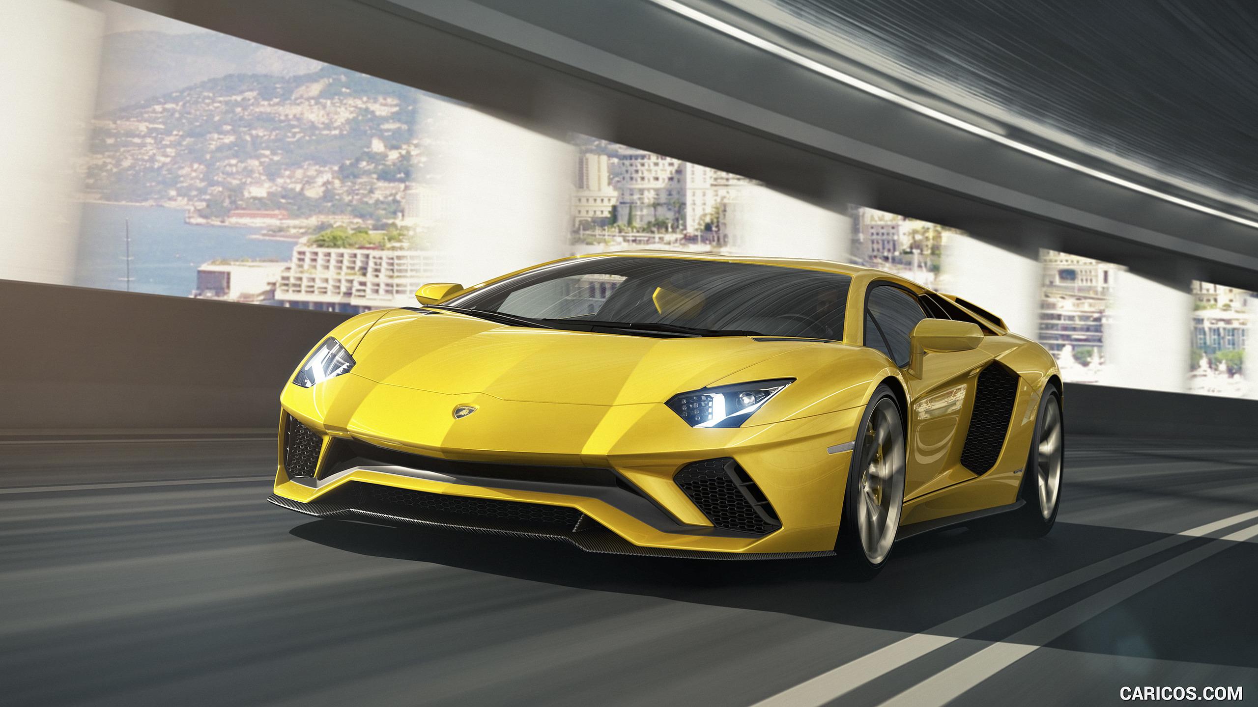 2017 Lamborghini Aventador S   Front HD Wallpaper 3 2560x1440