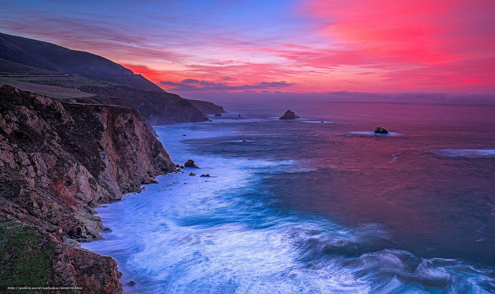 Pacific Ocean Big Sur California Beach 4k Hd Desktop: Big Sur Wallpaper