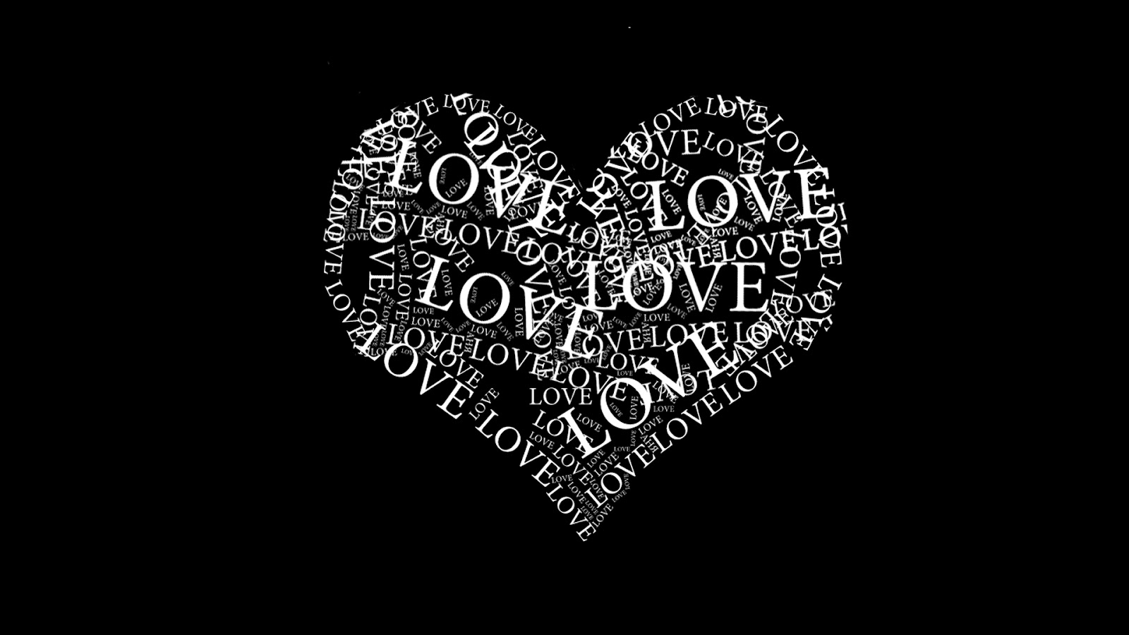 43 wallpaper with written words on wallpapersafari - Black and white love pictures ...