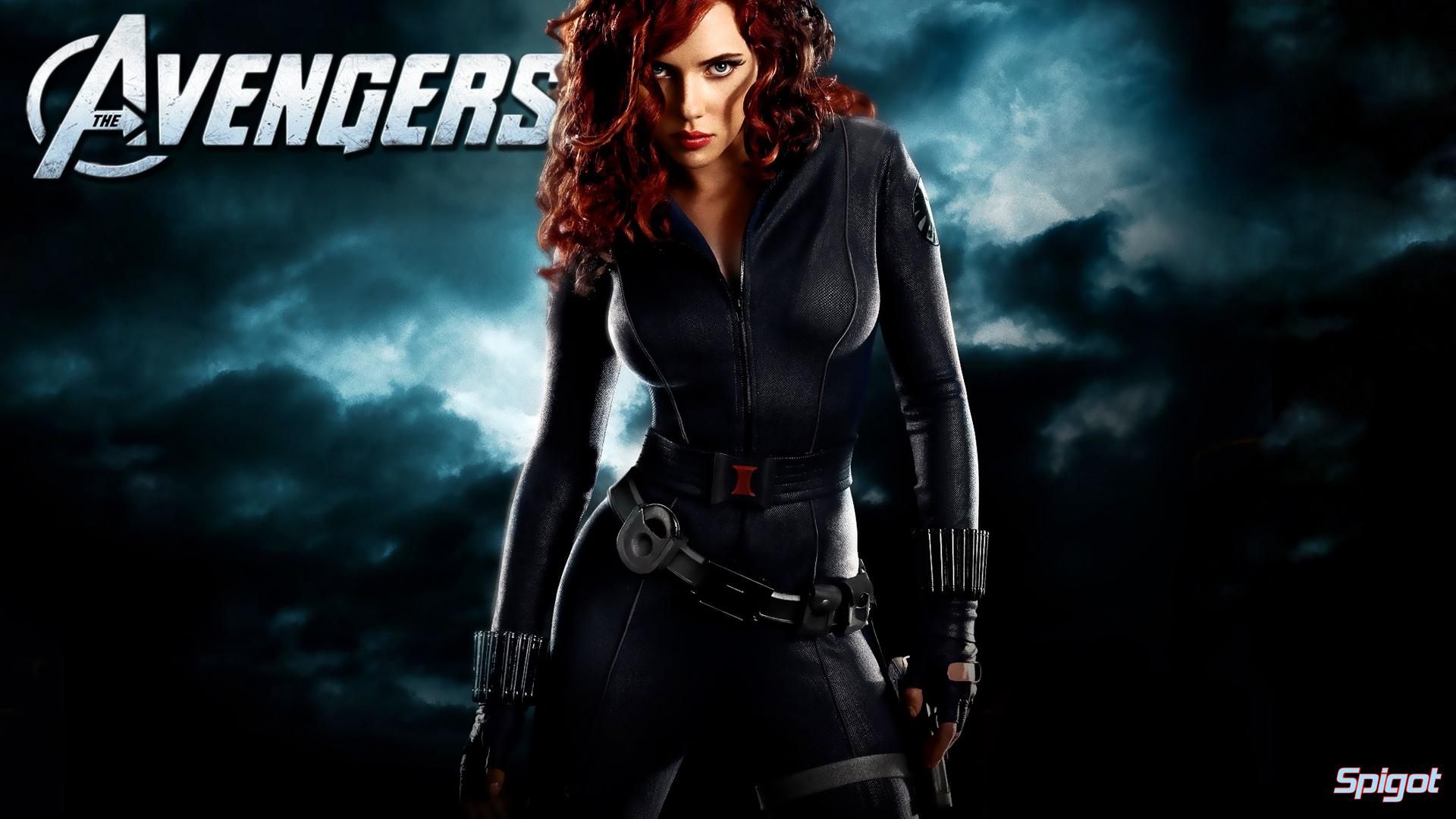 The Avengers Black Widow Wallpaper HD 1920x1080