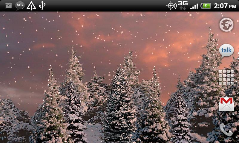 Snowfall Live Wallpaper   Android Apps on Google Play 800x480