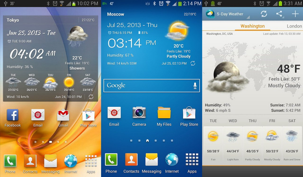 Weather Widgets Android Live