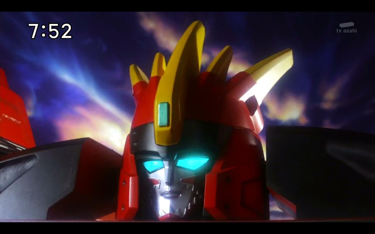 Kyoryuger Brave 2 OH SNAP A MegaZord SengalBoy 1280x800
