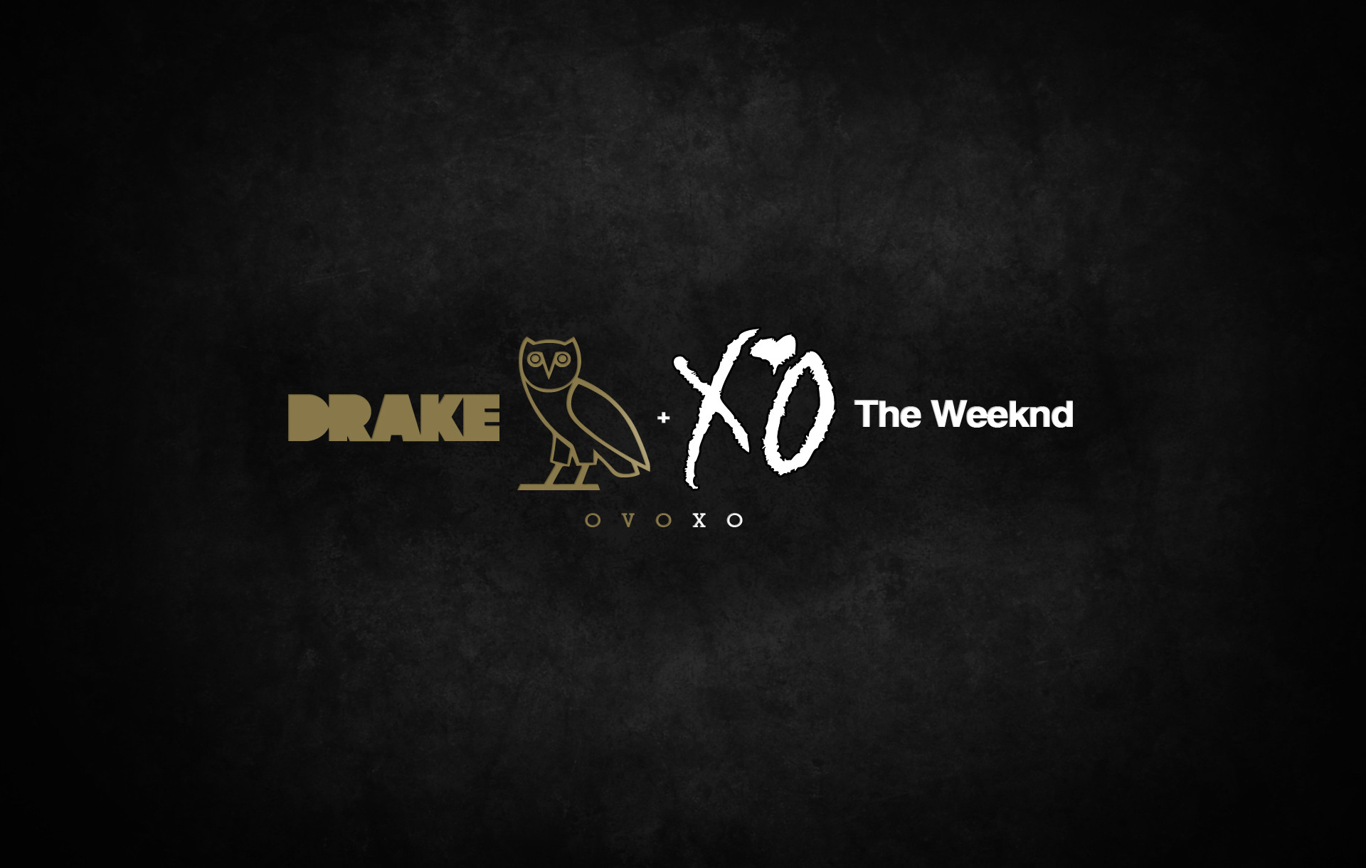 The Weeknd and Drake XO Rap Wallpapers 1920x1220