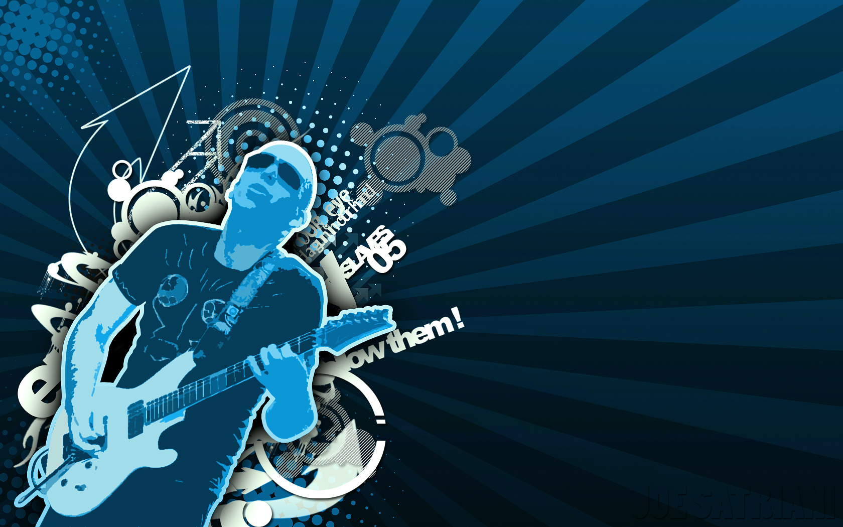 Music   Joe Satriani Wallpaper 1680x1050