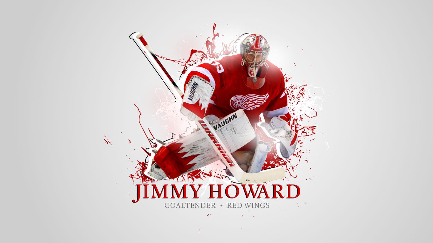 NHL Wallpapers   Jimmy Howard Detroit Red Wings 1440x810 wallpaper 1440x810