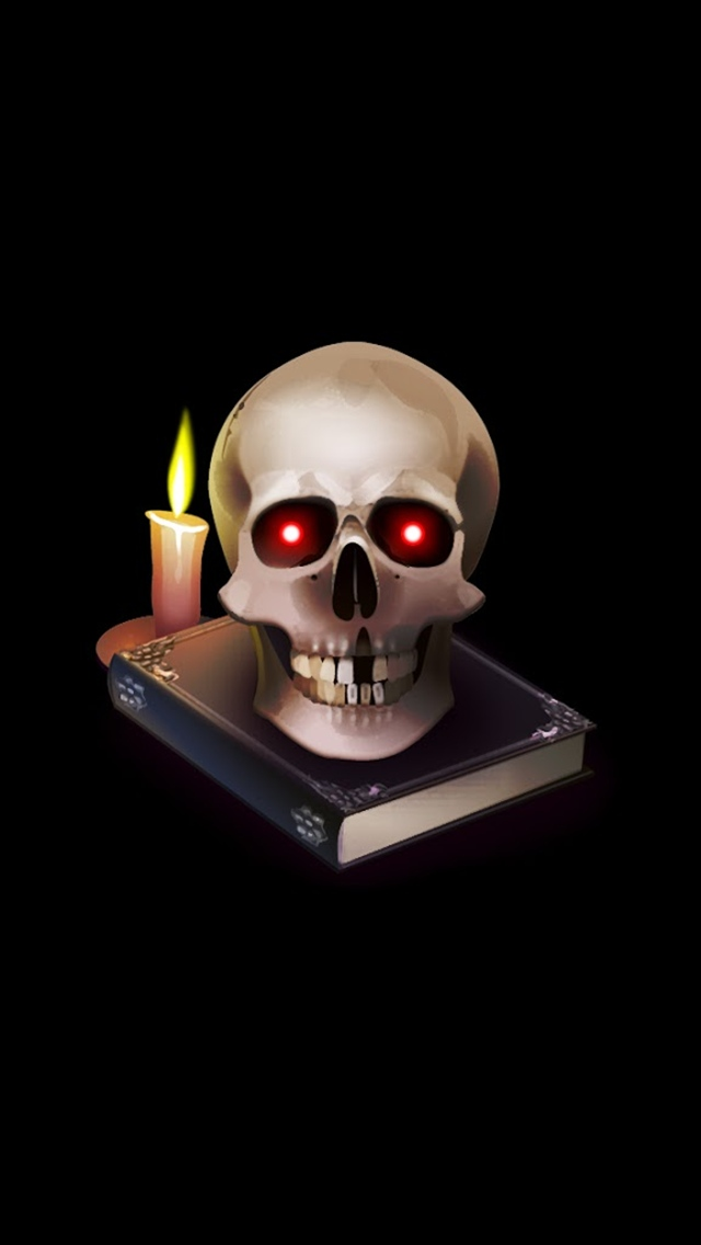 Free Download Skull Wallpaper Iphone 5c 640x1136 For Your
