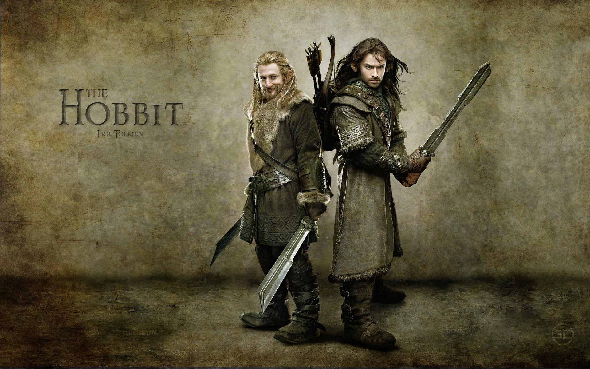 movies dwarfs journey The Hobbit arrows Swordsman brothers 1920x1200
