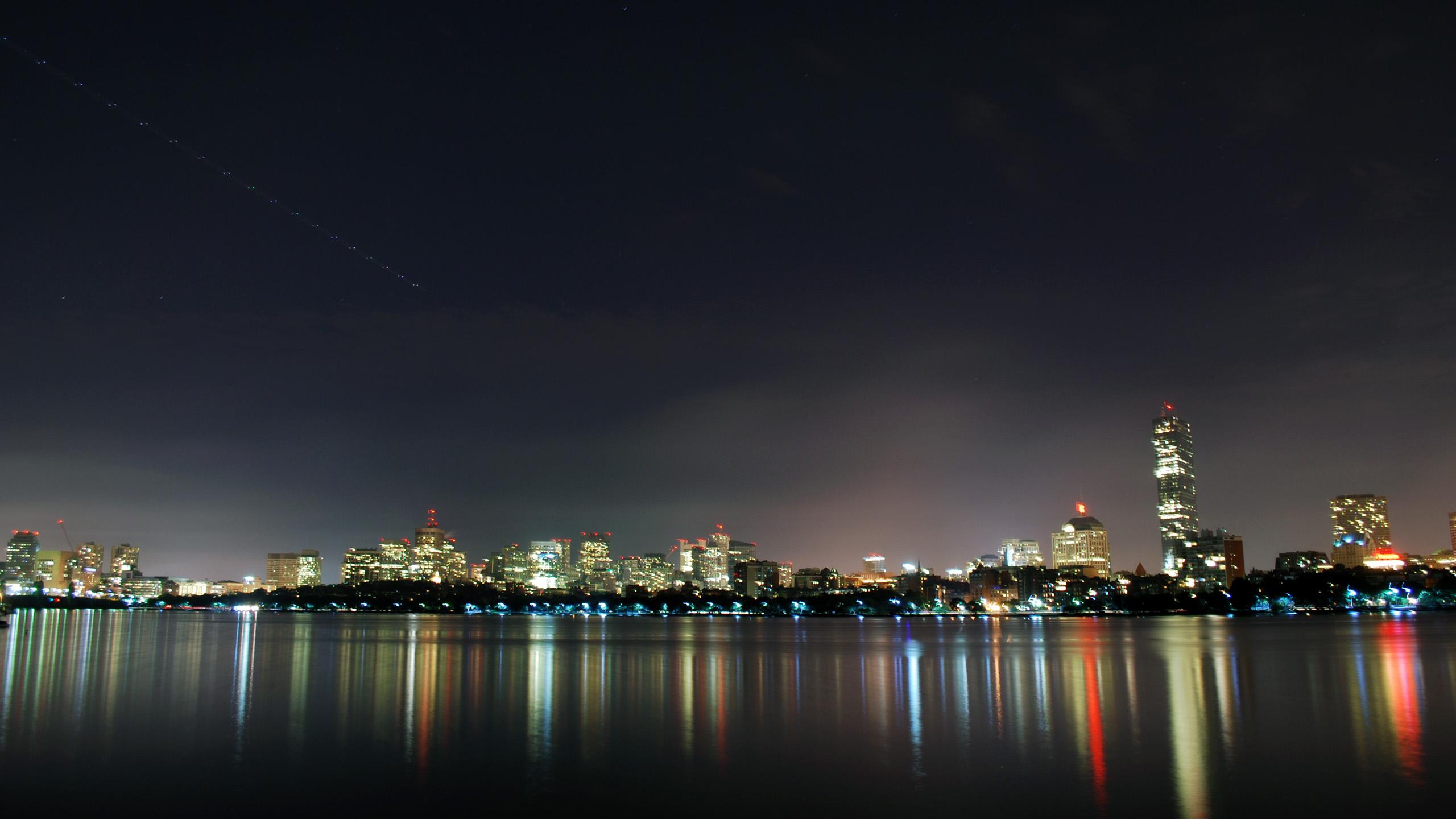 Boston City   Travel World HD Wallpapers   Boston City 2560x1440