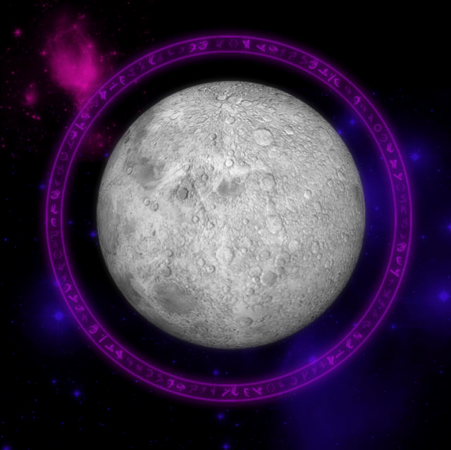 Moon Goddess Desktop and mobile wallpaper Wallippo 640x639