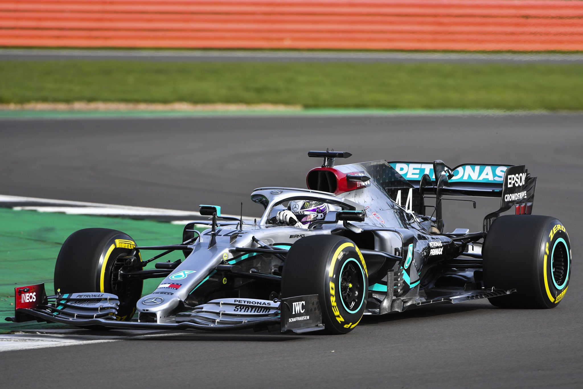 Formula 1   Pictures Mercedes reveal the W11 at Silverstone shakedown 2048x1366