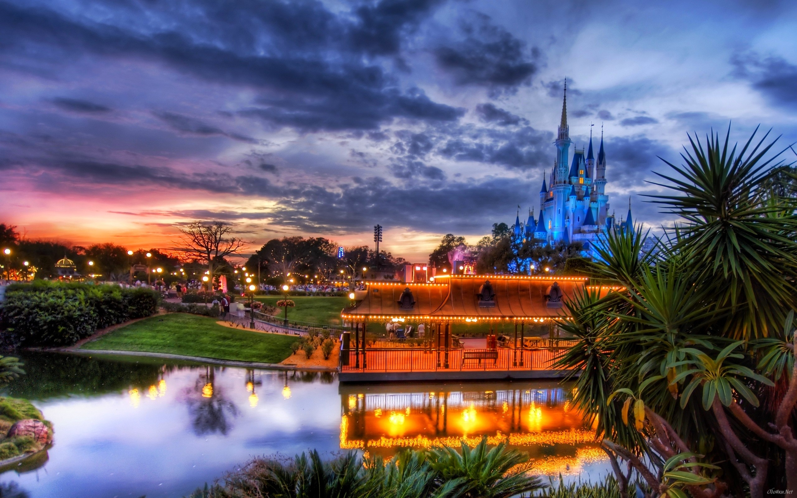 Disney town HD Desktop Wallpaper HD Desktop Wallpaper 2560x1600