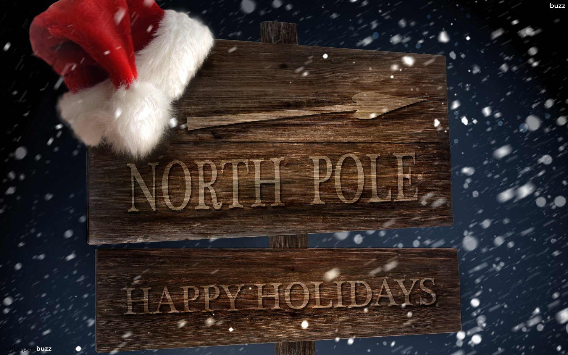 The The North Pole HD Wallpaper 1920x1200