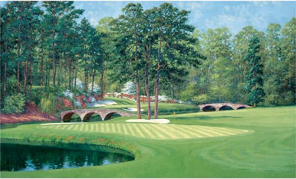 Masters Golf Wallpaper Clubhouse at augusta national golf club, the ...