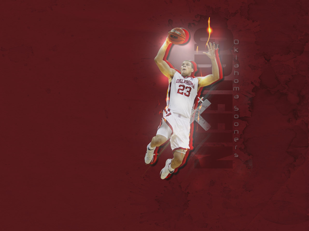 Blake Griffin Oklahoma Sooners Wallpaper 1280215960 102678 1280x960