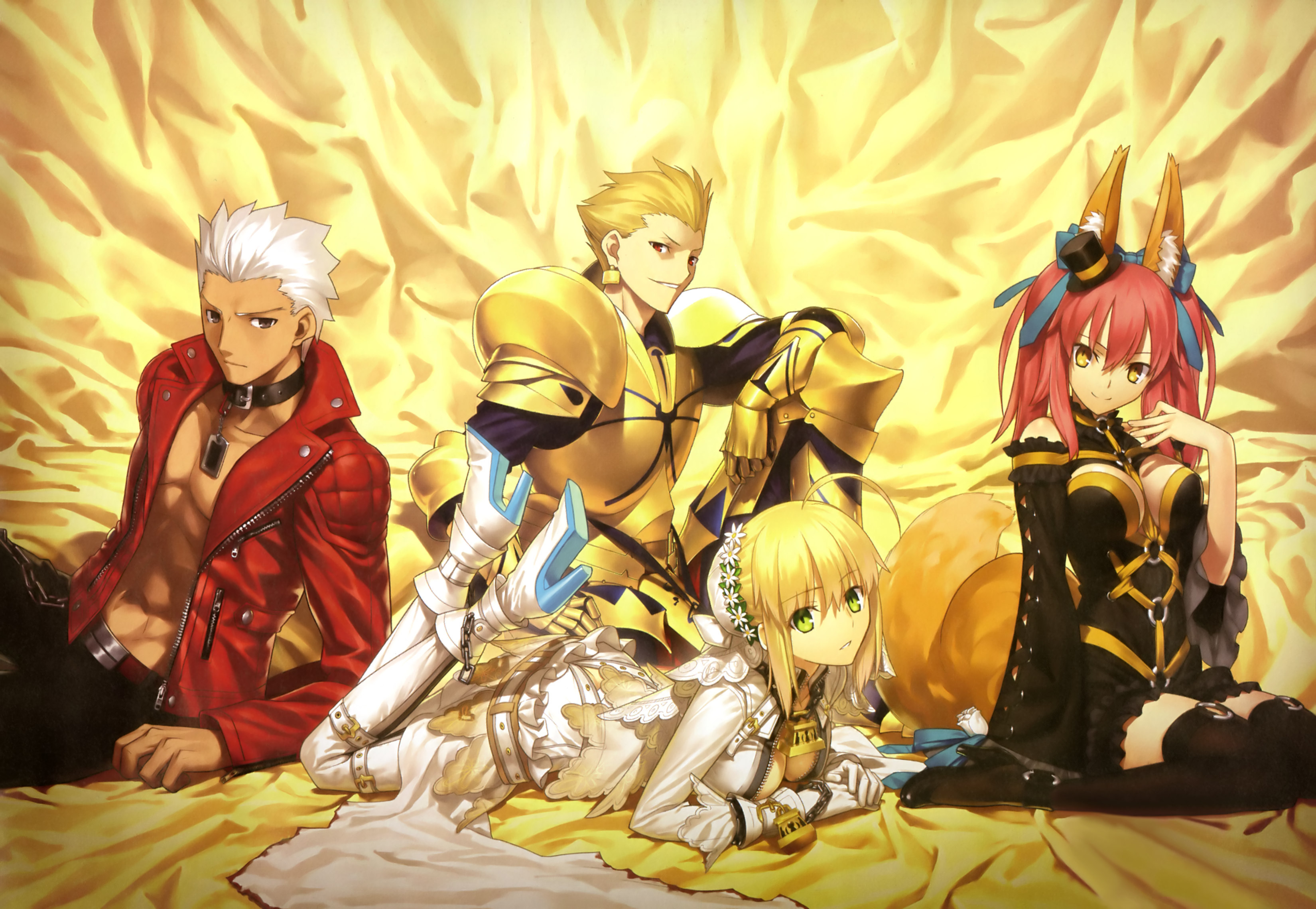 archer cleavage fate extra fate extra ccc fate stay night gilgamesh 3300x2280