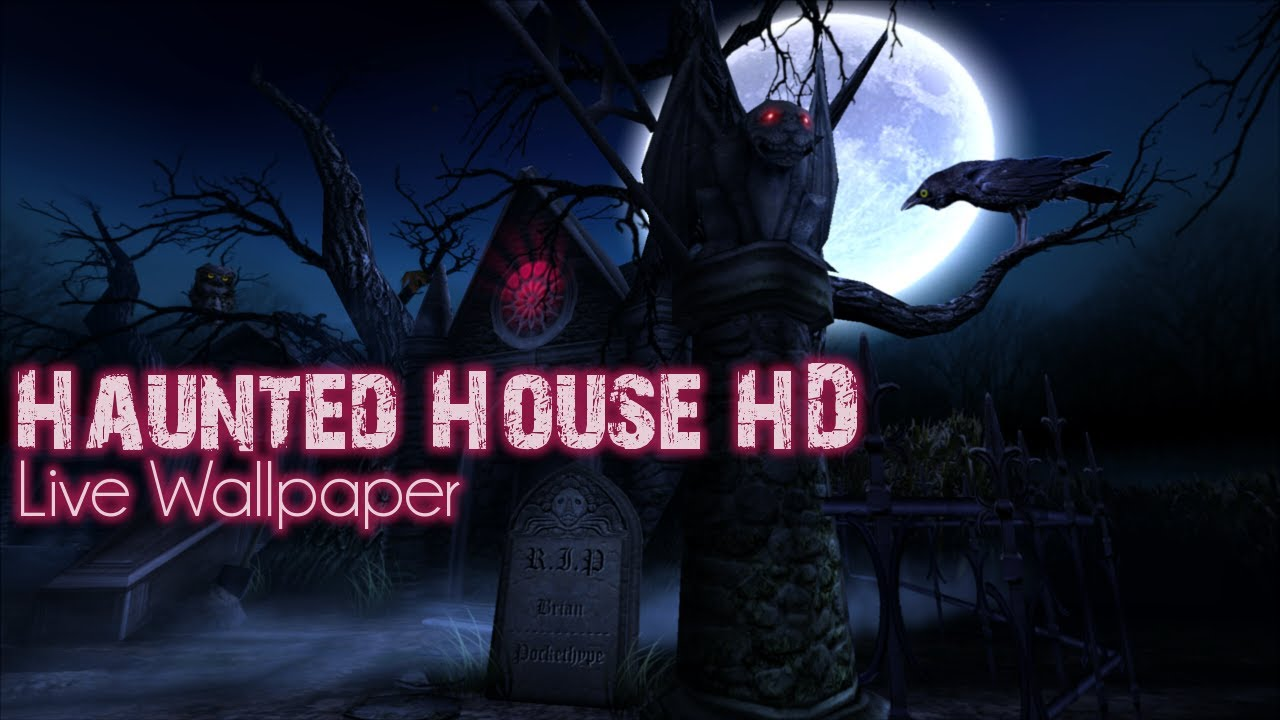 Haunted House HD Live Wallpaper Cementary Add On Pack 1280x720