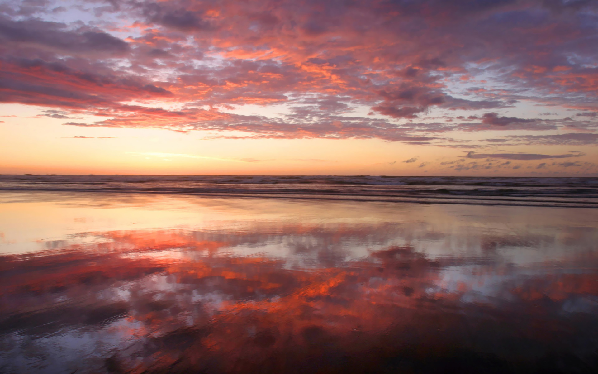Ocean sunset wallpaper #2146