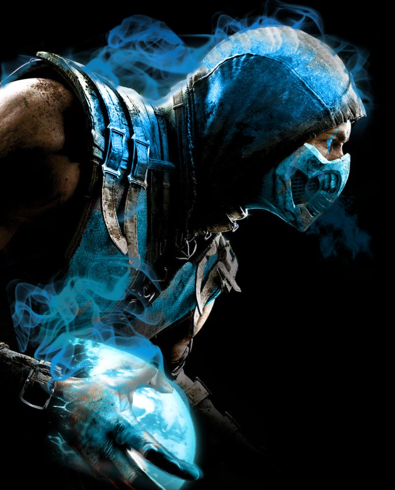 Download Sub Zero Mortal Kombat X By Preslice 803x994 49 Sub