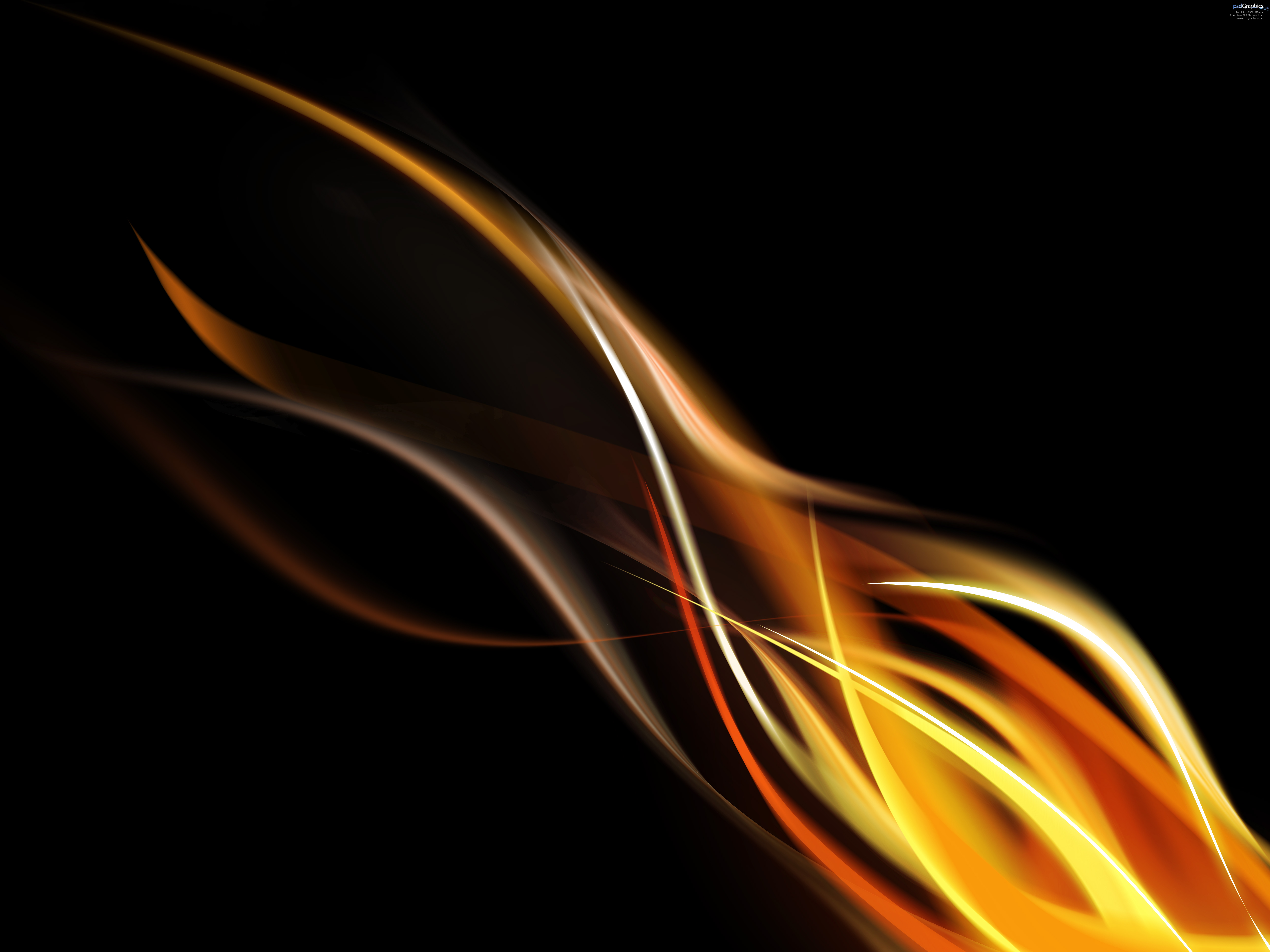 Photoshop flame background PSDGraphics 5000x3750