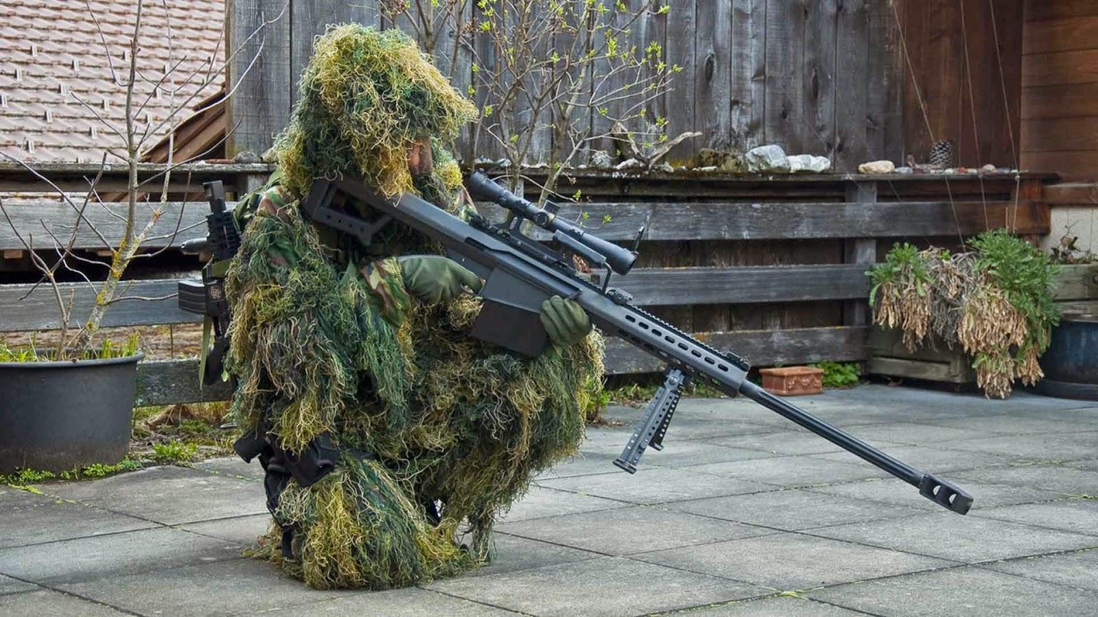 light fifty large caliber sniper rifle barrett firearms company sniper 1600x900