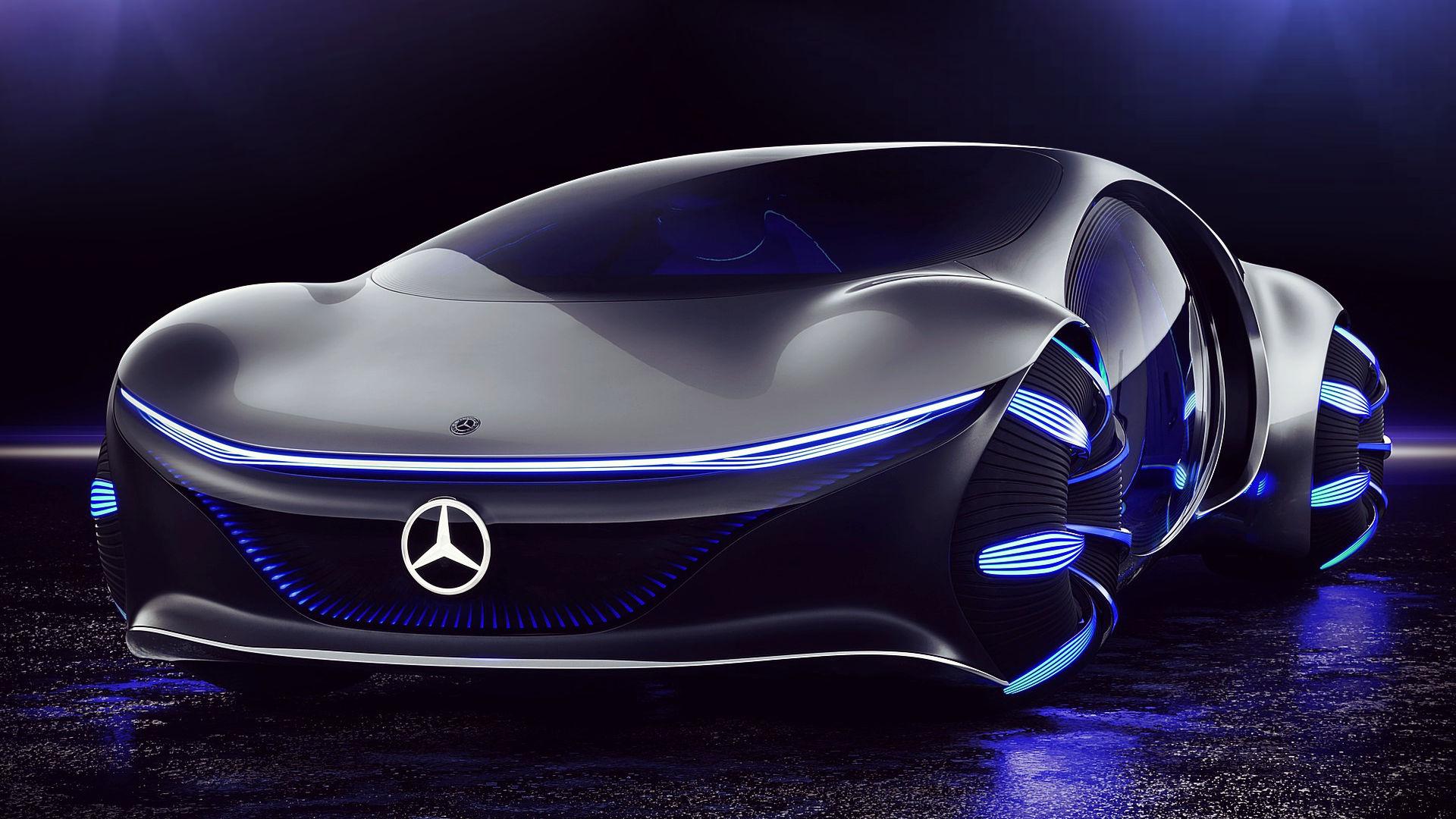 Mercedes Benz Vision Avtr Concept 2020 Wallpaper 1920x1080