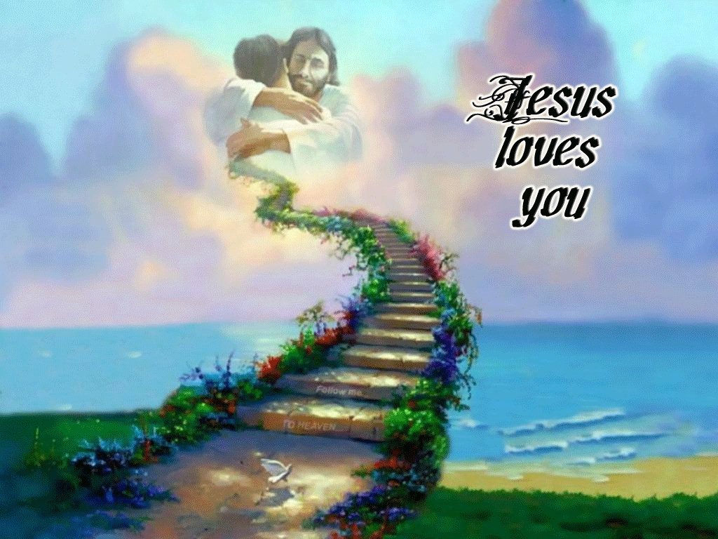 Jesus Loves You So Much Wallpaper   Christian Wallpapers and 1024x768