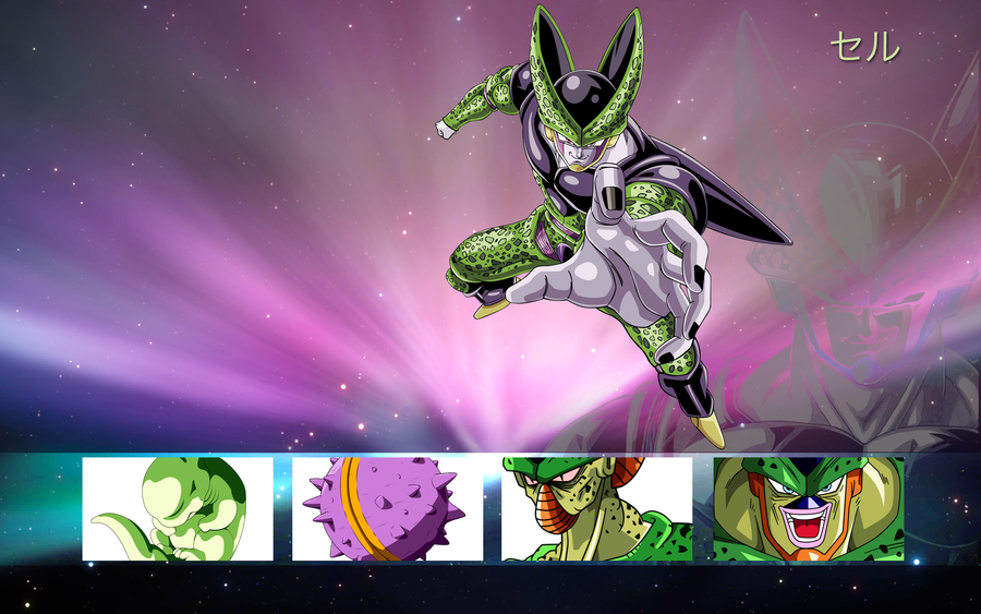 Cell Dbz Wallpaper Dragon Ball Mac Wallpaper Cell 900x563
