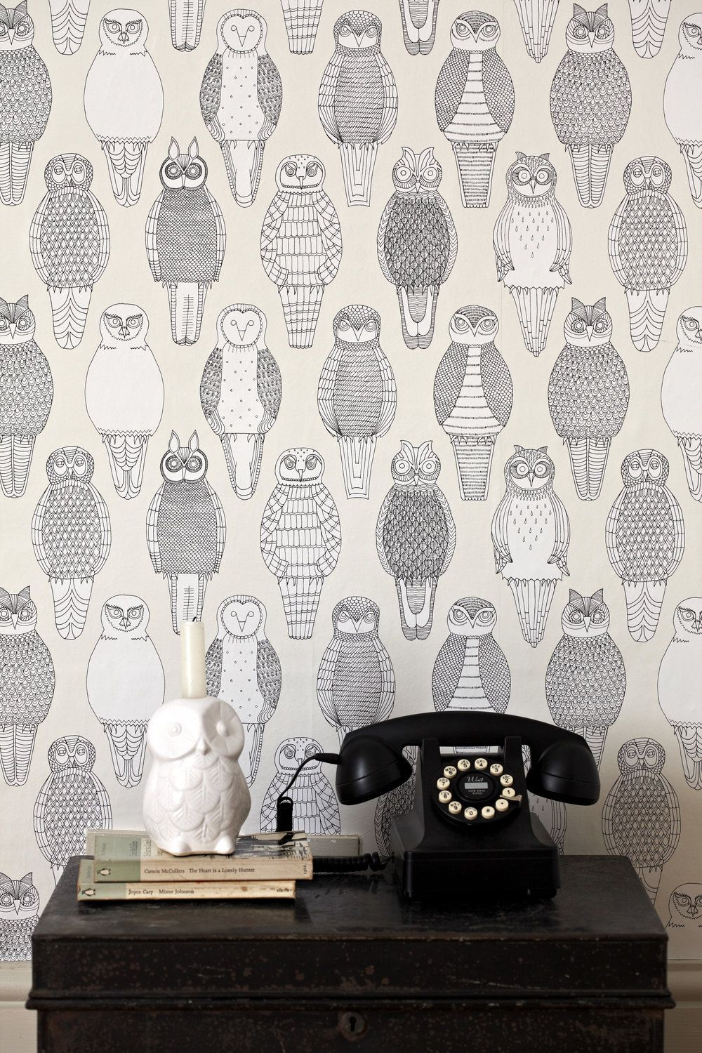 Owls of the British Isles Wallpaper Wall Paper Owl wallpaper 1000x1500