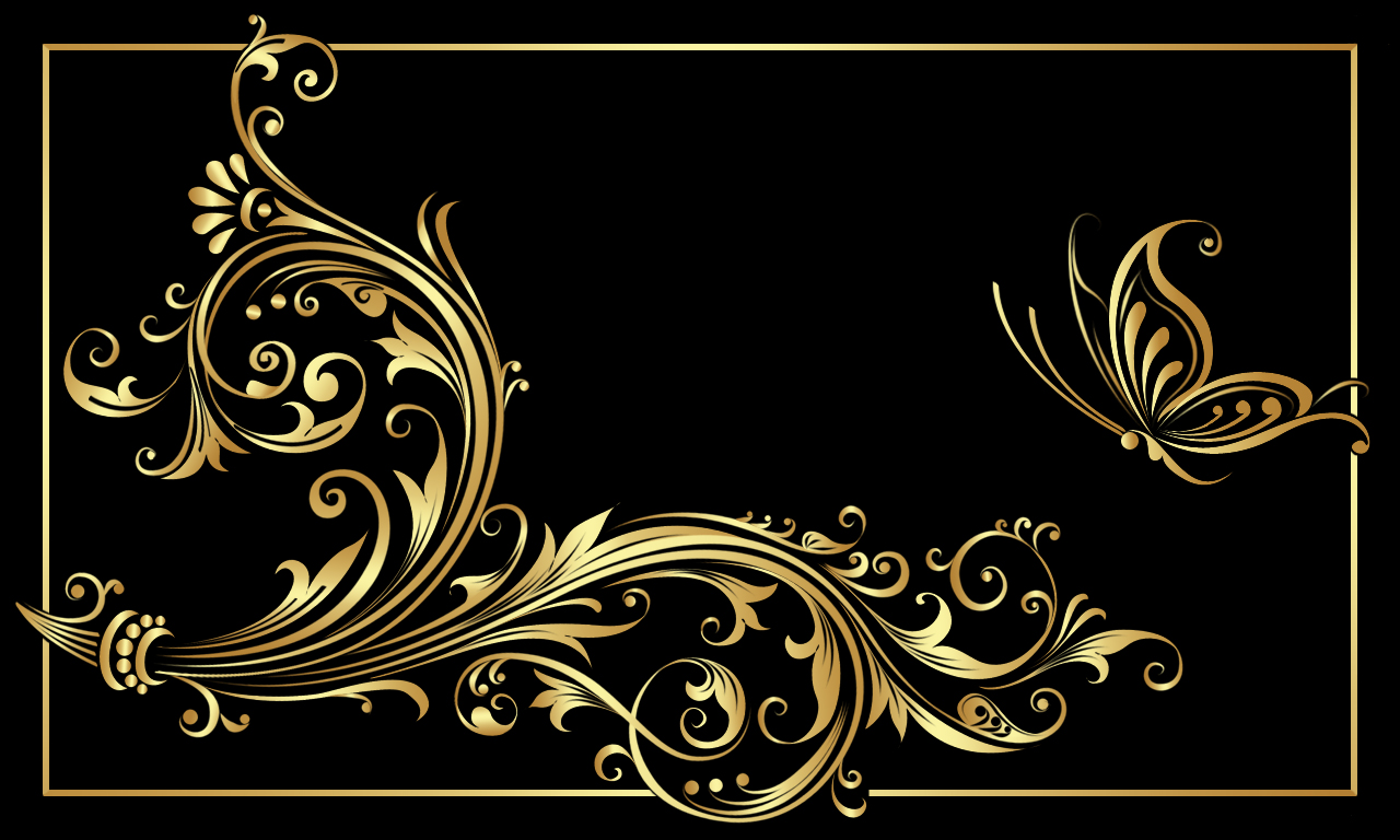 Black And Gold HD Wallpaper WallpaperSafari