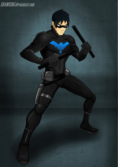 Nightwing YJ 2 by shamserg 400x566