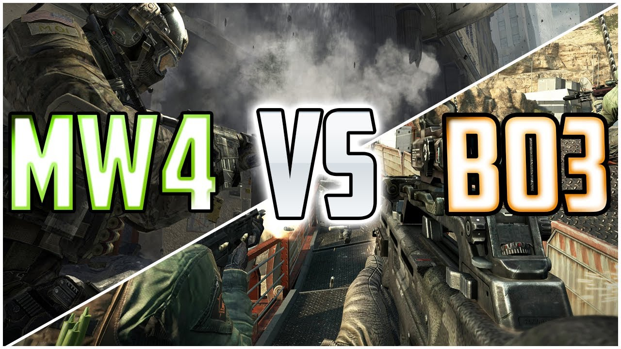 COD 2014   BO3 vs MW4   Treyarch VS Sledgehammer Call of Duty 2014 1280x720