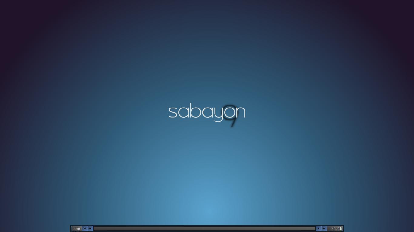 MALsPas Space fluxbox in sabayon 1366x768
