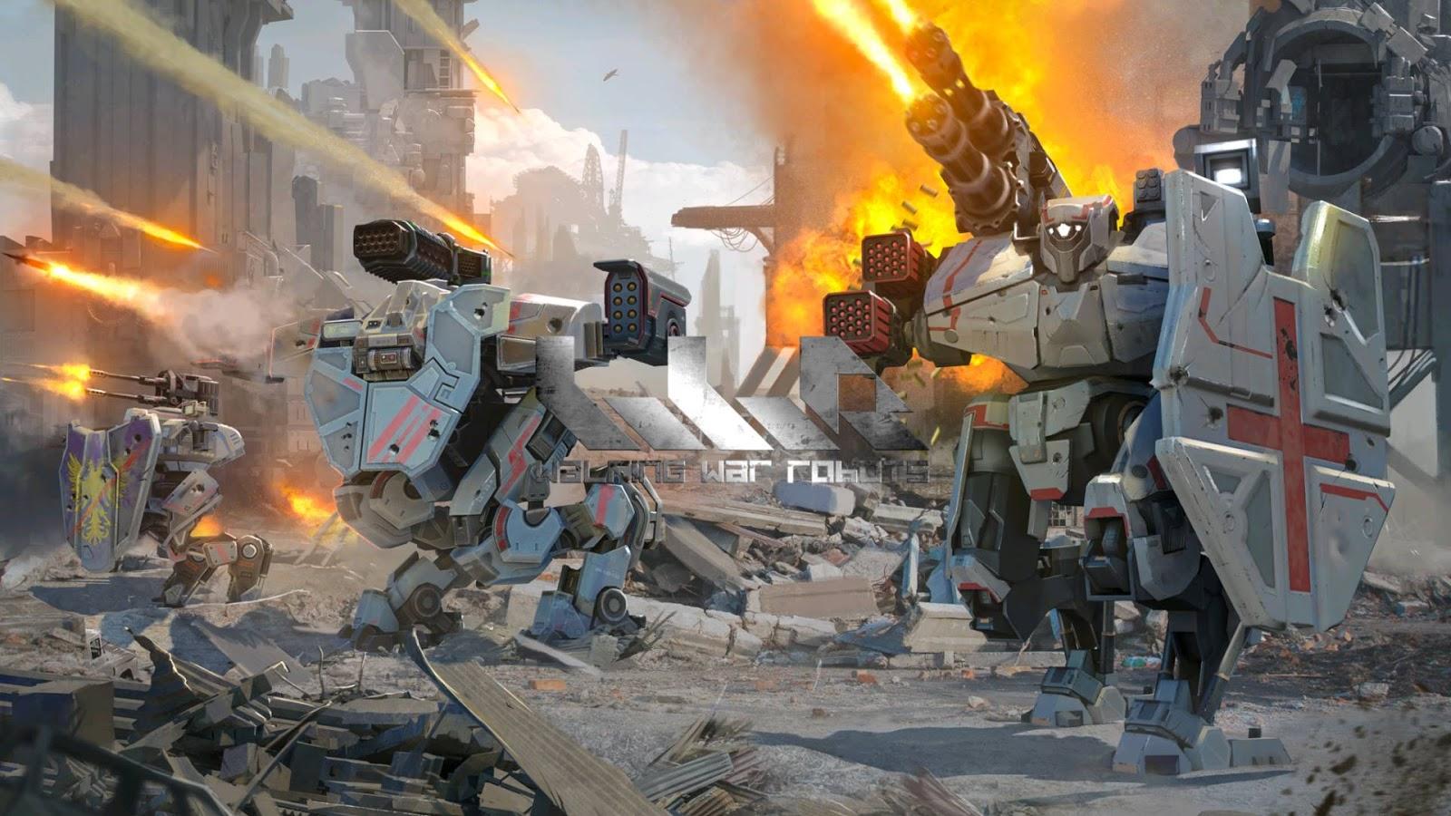 89 War Robots Wallpapers On Wallpapersafari
