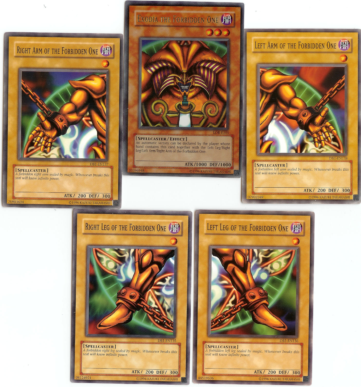 Exodia the Forbidden One by SSJGarfield 1405x1508