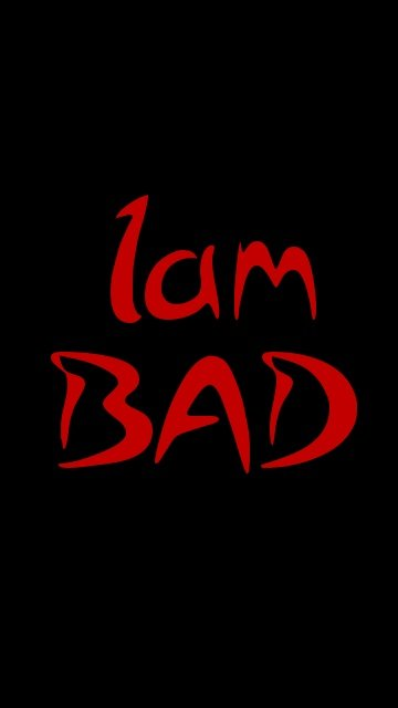 I Am Bad Boy Hd Wallpaper Download Vinnyoleo Vegetalinfo