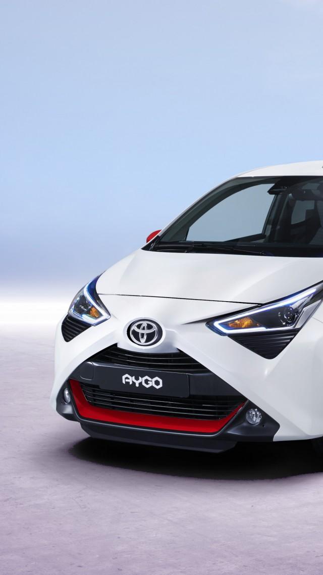 Wallpaper Toyota Aygo 2018 Cars 4k Cars Bikes 17567 640x1138